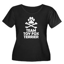 Team Toy Fox Terrier Plus Size T-Shirt