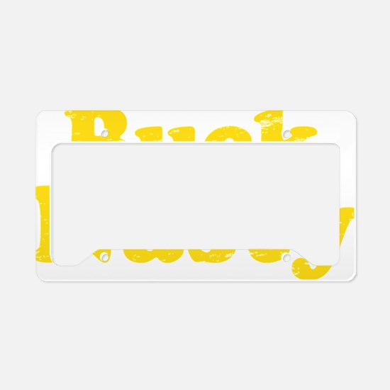 bucknastyyellow License Plate Holder