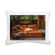 CALsiesta Rectangular Canvas Pillow