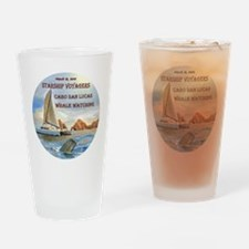 STARSHIP VOYAGERS Cabo  San Lucas W Drinking Glass