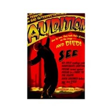 Audition! 52x62poster Rectangle Magnet