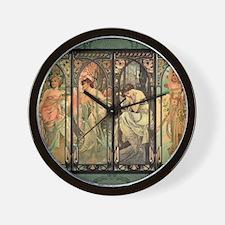CALmucha2 Wall Clock