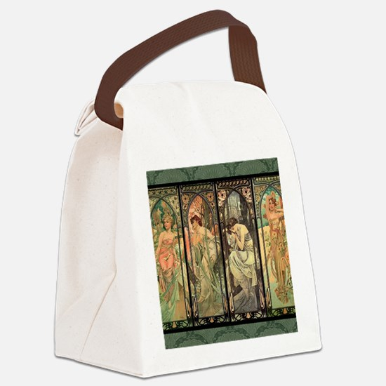 CALmucha2 Canvas Lunch Bag