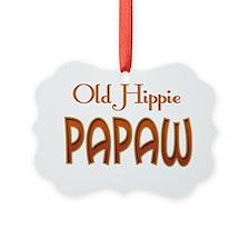OLD HIPPIE PAPAW Ornament