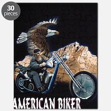 AMERICAN BIKER Puzzle
