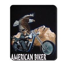 AMERICAN BIKER Mousepad