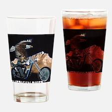 AMERICAN BIKER Drinking Glass