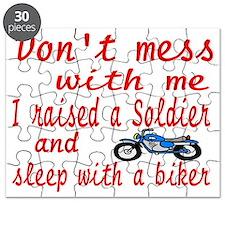 dont mess biker Puzzle