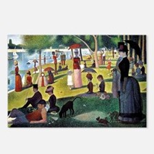 CALseurat Postcards (Package of 8)