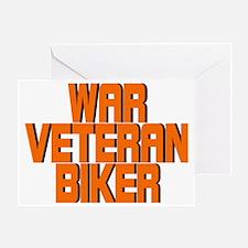 WAR VET Greeting Card