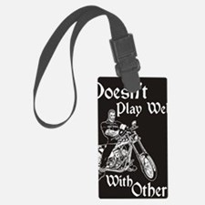 DOESNT PLAY WELL Luggage Tag