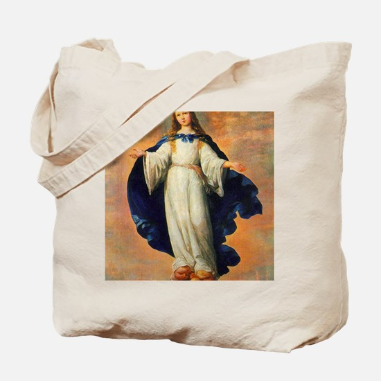 Francisco_de_Zurbaran_The Immaculate Conc Tote Bag