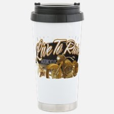 live to ride Stainless Steel Travel Mug