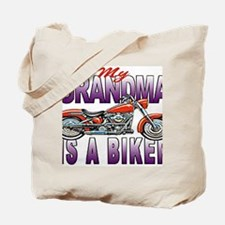 GRANDMA BIKER Tote Bag