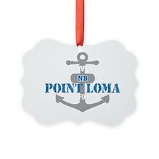CA Point Loma 2 Ornament