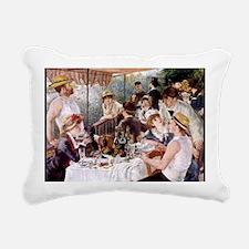 CALrenoirlunch Rectangular Canvas Pillow