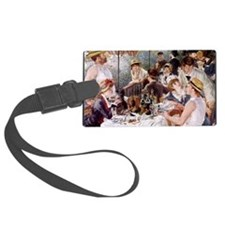 CALrenoirlunch Luggage Tag