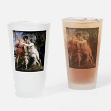 Venus and Adonis Drinking Glass