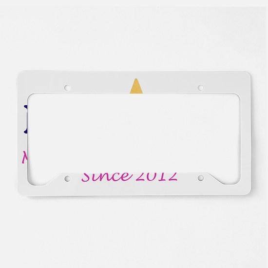 Late for PT_License_Navy_2012 License Plate Holder