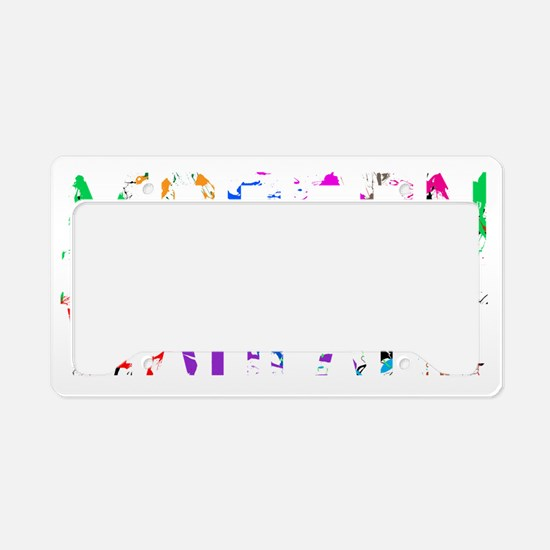 Designs-Community003-02 License Plate Holder