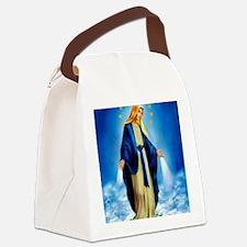 MilagrosaWoodCafeP Canvas Lunch Bag