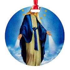 MilagrosaWoodCafeP Ornament