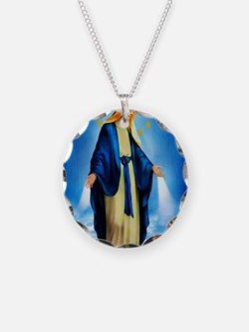 MilagrosaWoodCafeP Necklace