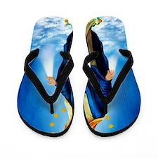 MilagrosaWoodCafeP Flip Flops