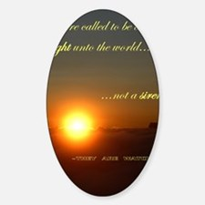 Light of the world Decal
