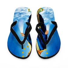 MilagrosaWoodZazzle Flip Flops