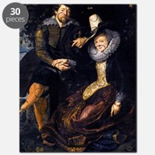 The Artist and His First Wife, Isabella Bra Puzzle