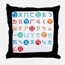 Bopomofo Throw Pillow