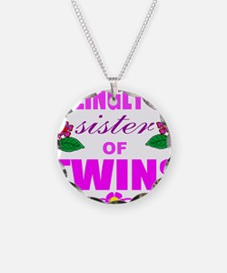 Sane sister of twins Necklace