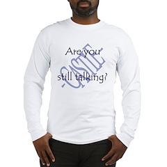 LC20x20_stilltalking_png Long Sleeve T-Shirt
