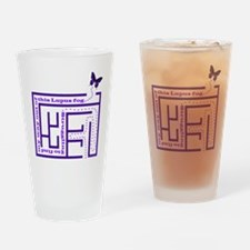 neg_lupus_fog1 Drinking Glass