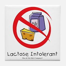 lactose-intolerant Tile Coaster