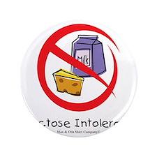 """lactose-intolerant 3.5"""" Button"""