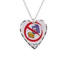 lactose-intolerant Necklace Heart Charm