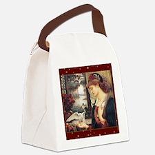 MPlovesmessenger Canvas Lunch Bag