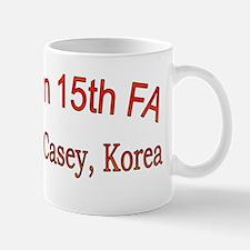 1st Bn 15th FA cap Mug