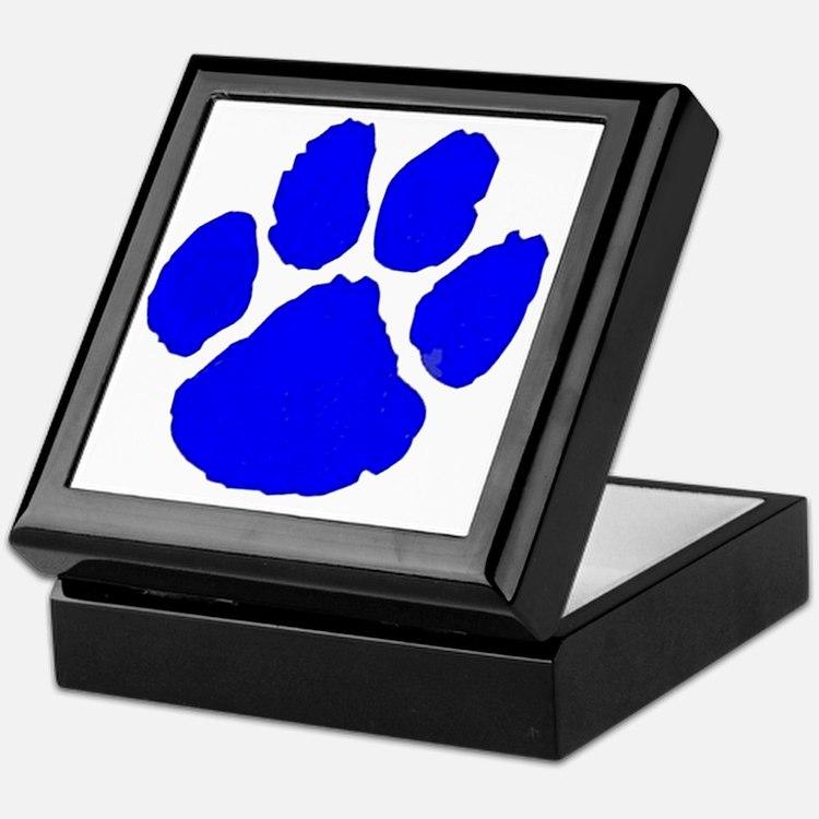 pawprint Keepsake Box