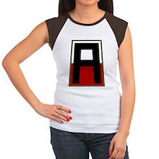 1st Army Women's Cap Sleeve T-Shirt