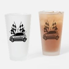 Fiat 500 copy Drinking Glass