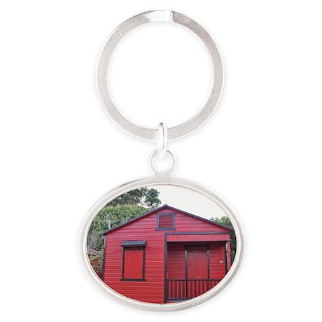 DSC_0642_01poster Oval Keychain