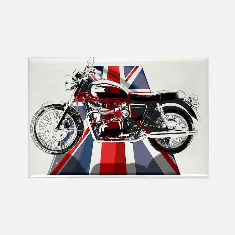 British Bonnie copy Rectangle Magnet