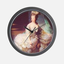 marieantoinettecarrerondmagnet Wall Clock