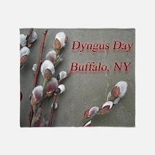 dyngus day buffalo combo_edited-2 Throw Blanket