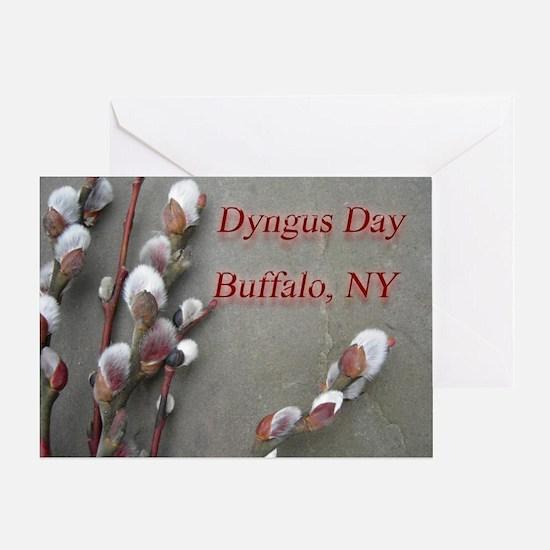 dyngus day buffalo combo_edited-2 Greeting Card