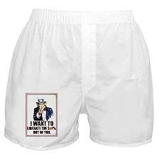 liberate you Boxer Shorts