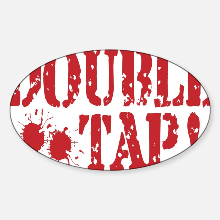 Cute World war z the movie Sticker (Oval)